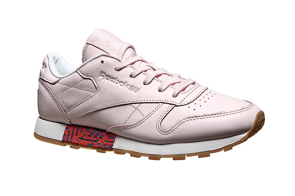 b0ccd9501d4bdb Reebok classic sneakers leather old meets new pink