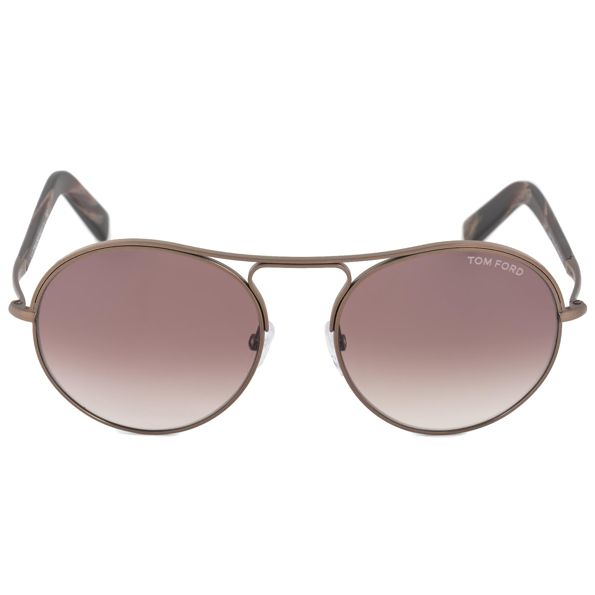 759202c7a49 Tom Ford Jessie Women s Round Sunglasses FT0449 49T 54