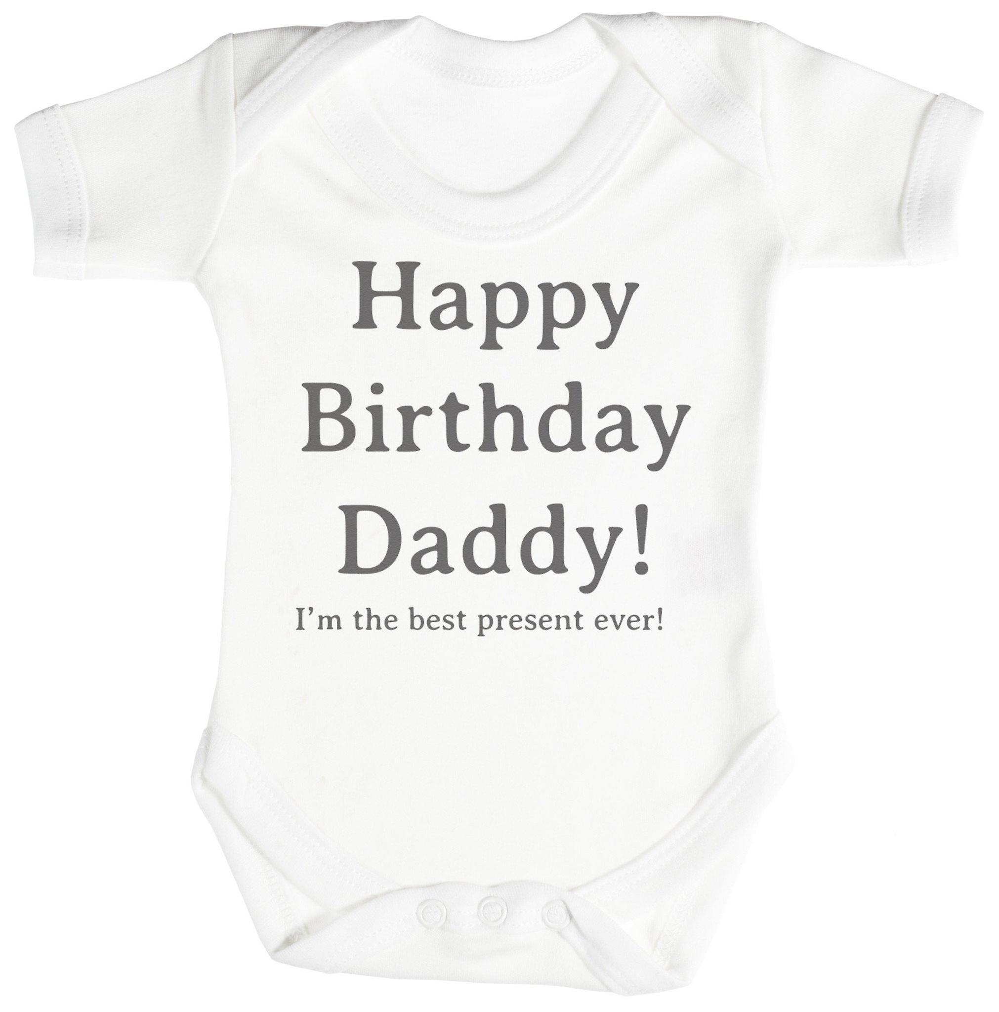 Breaking Dad Print New Born 6 Months Baby Grow BodySuits Birthday Gift