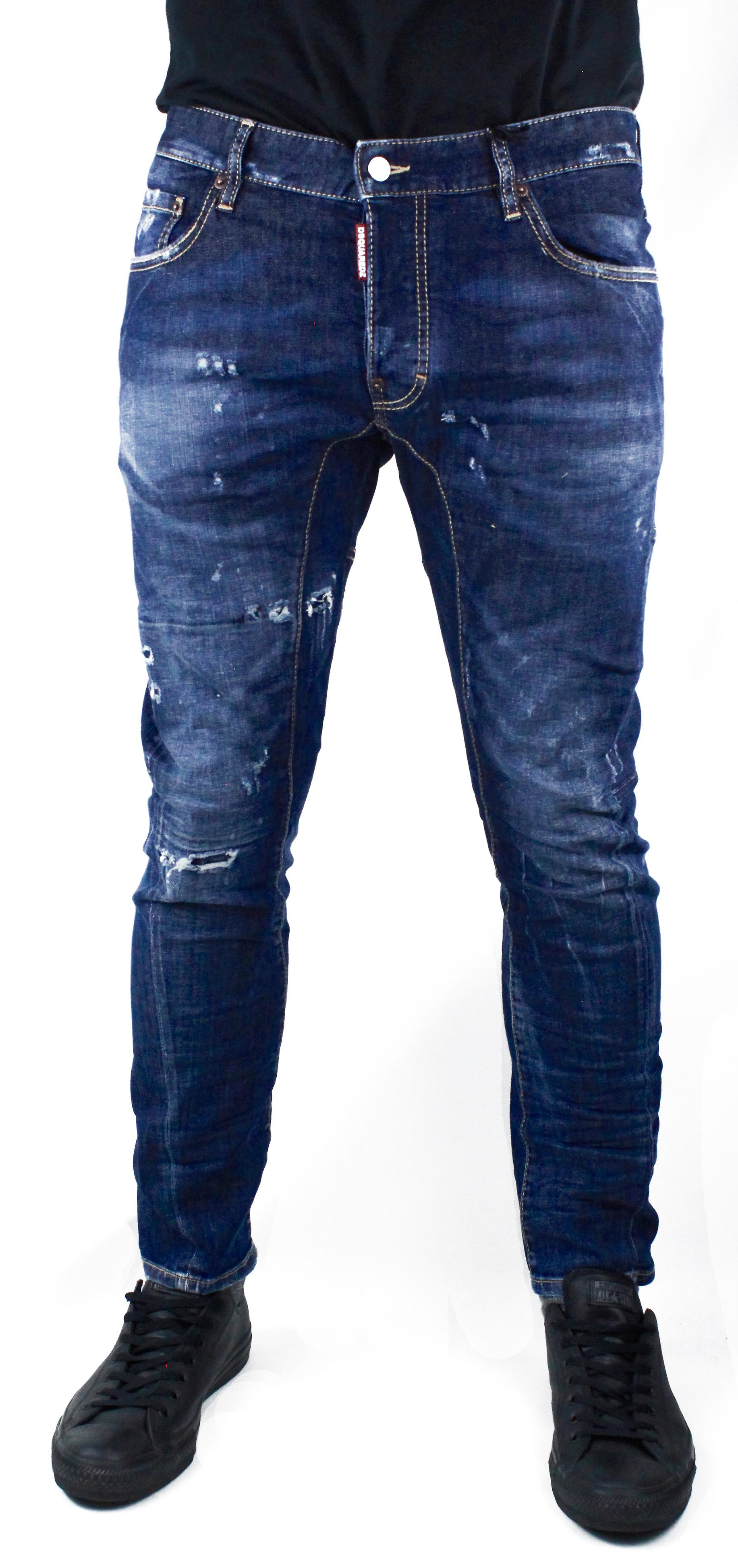 DSquared2 ryddig Biker S74LB0014 Jeans