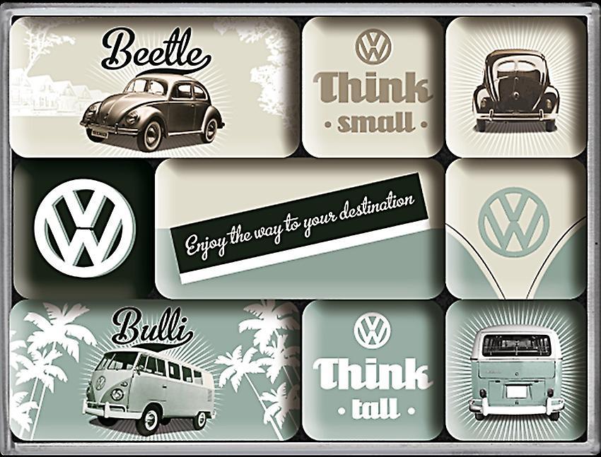 Vw Auto Kühlschrank : Kult vw volkswagen bus bulli t oldtimer d kühlschrank werkstatt