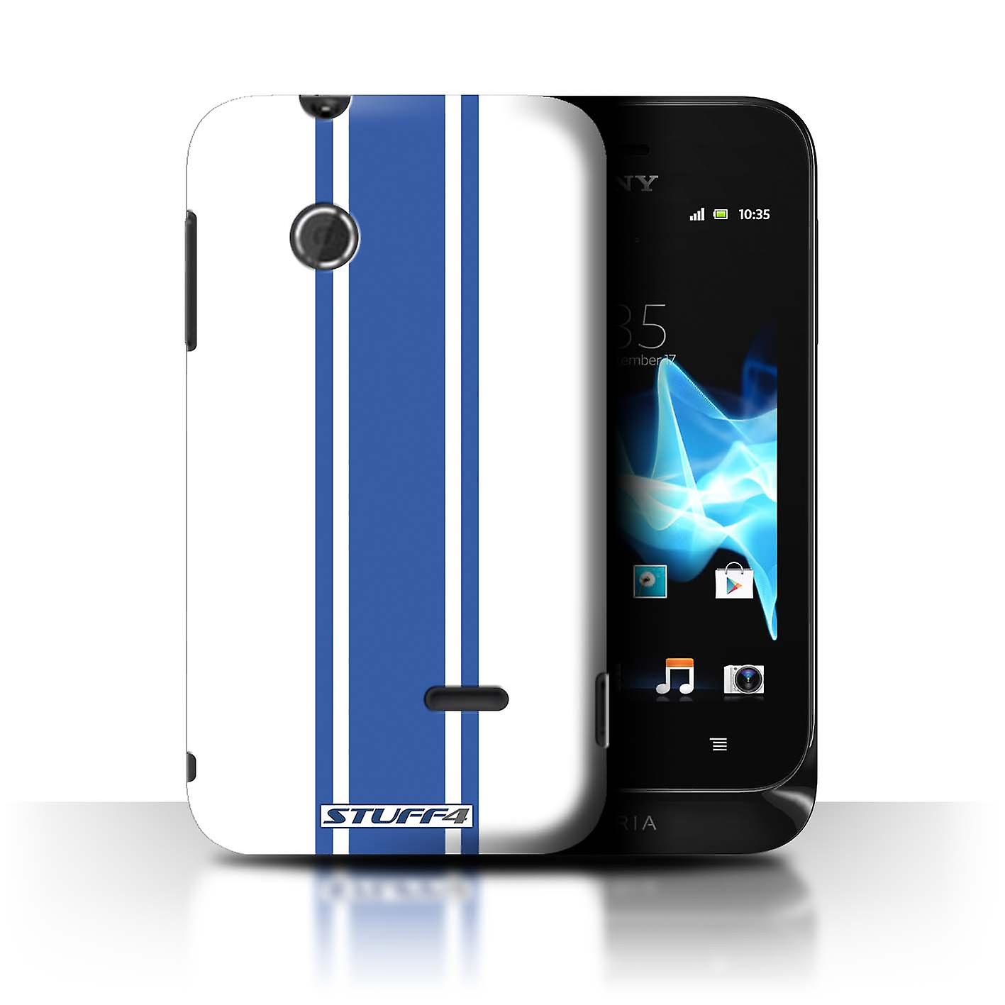 STUFF4 Case Cover for Sony Xperia Tipo ST21 American Muscle Racing