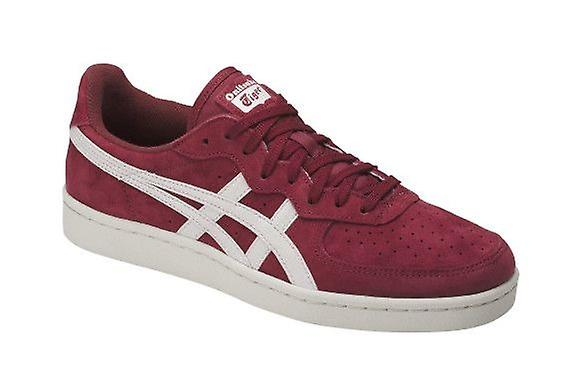 da30cef72873 ASICS GSM ONITSUKA TIGER mens real leather sneakers Red