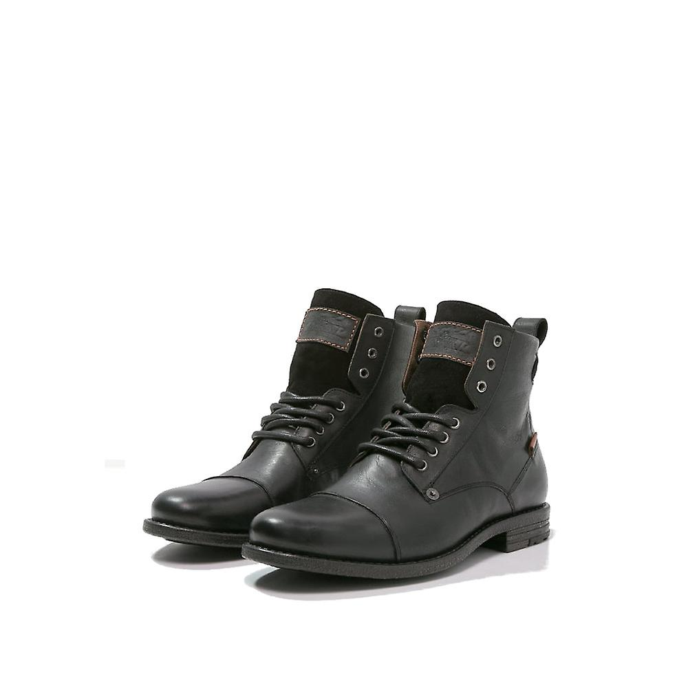 Levi's® EMERSON - Lace-up boots - regular black