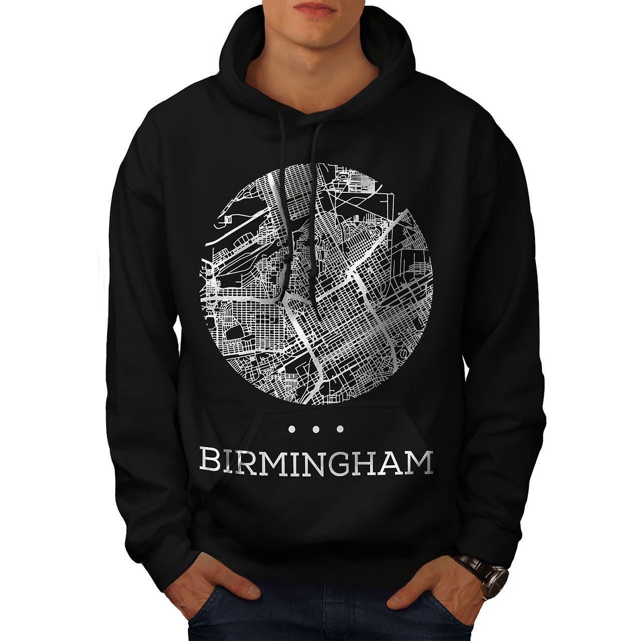 birmingham map fashion blackhoodie wellcoda fruugo