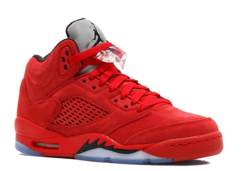 1d03337e322a4 Air Jordan 5 Retro Bg (Gs)  Gamuza rojo  - 440888 - 602 - zapatos ...