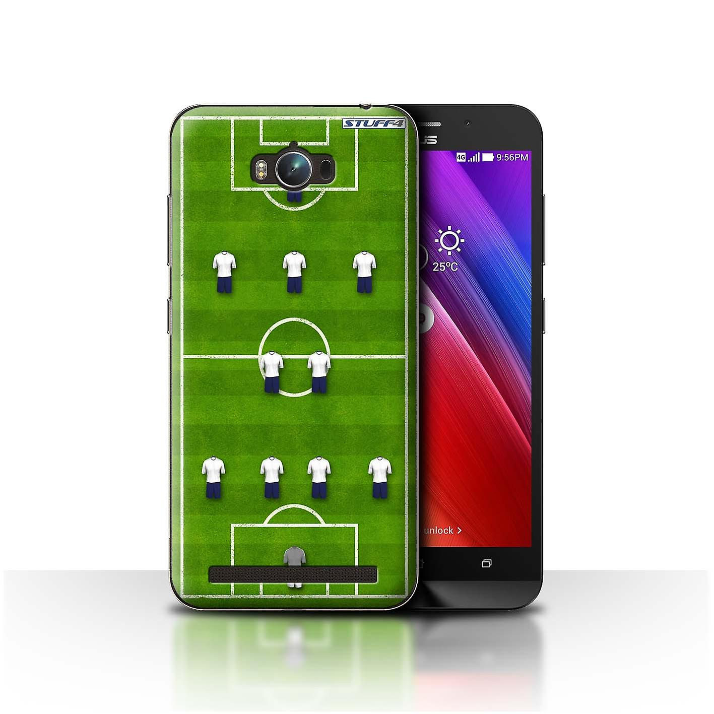 purchase cheap 825ee 99396 STUFF4 Case/Cover for Asus Zenfone Max ZC550KL/4-2-3-1/White/Football  Formation