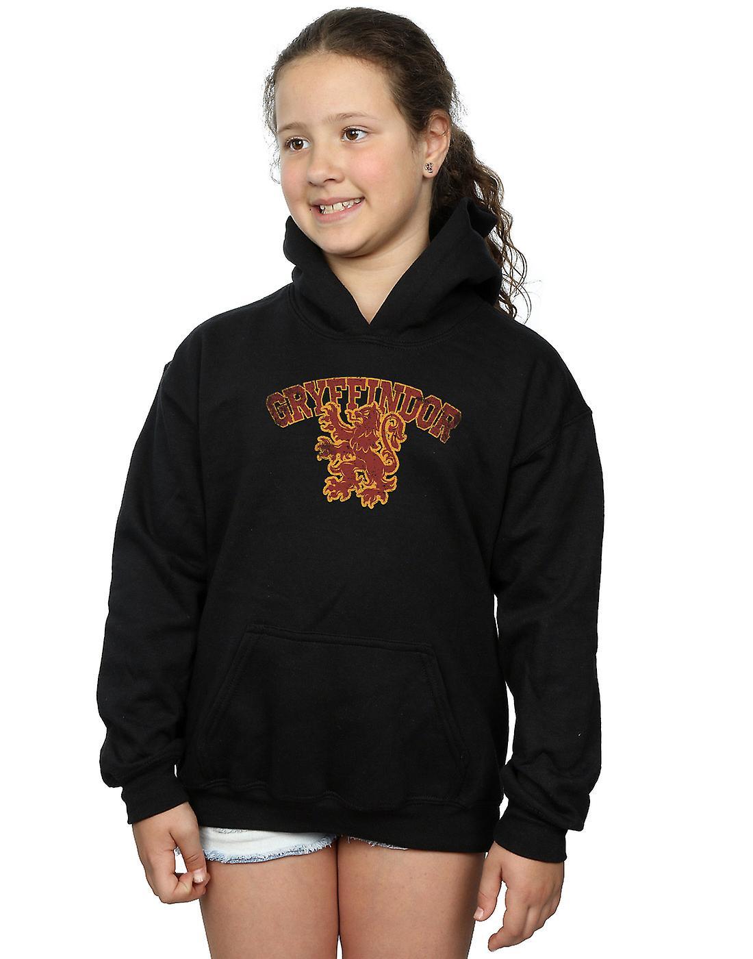 Harry Potter flickor Gryffindor Sport Emblem Hoodie