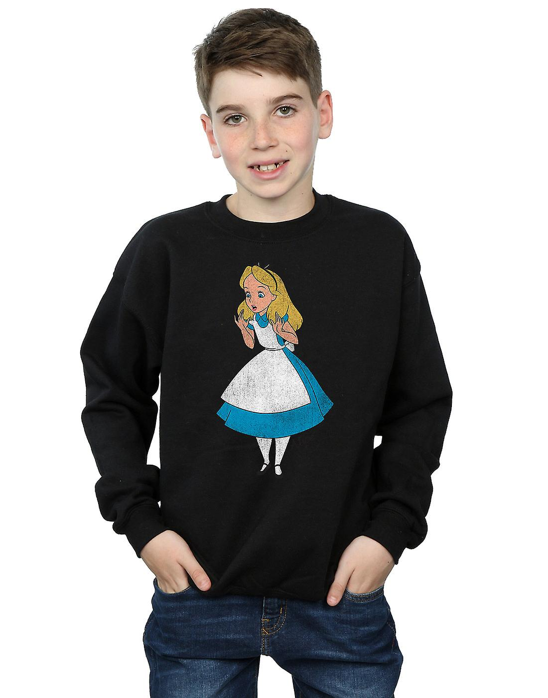 Disney Boys Alice In Wonderland Classic Alice Sweatshirt Fruugo
