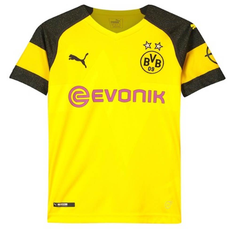 the best attitude a0e87 b02be 2018-2019 Borussia Dortmund Home Puma Shirt (Kids)