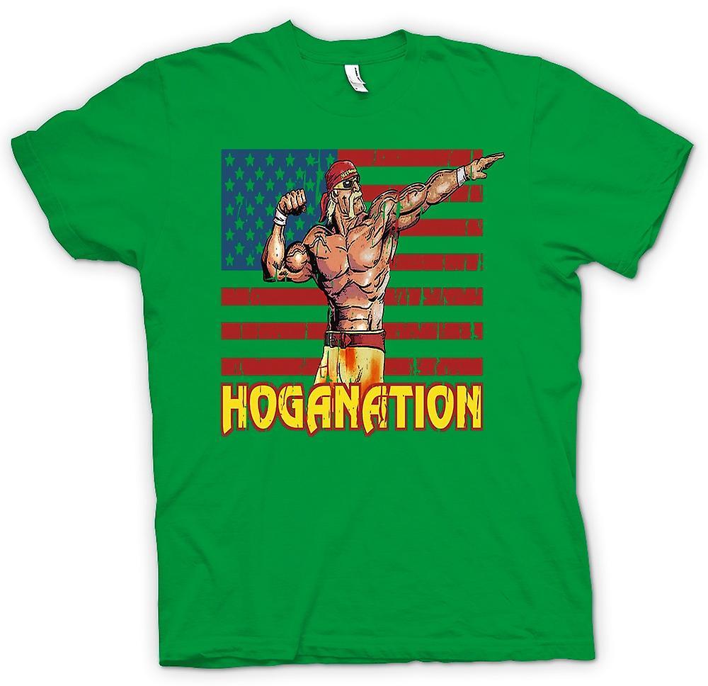 Kids t shirt hoganation hulk hogan us flag fruugo for Hulk fishing shirts