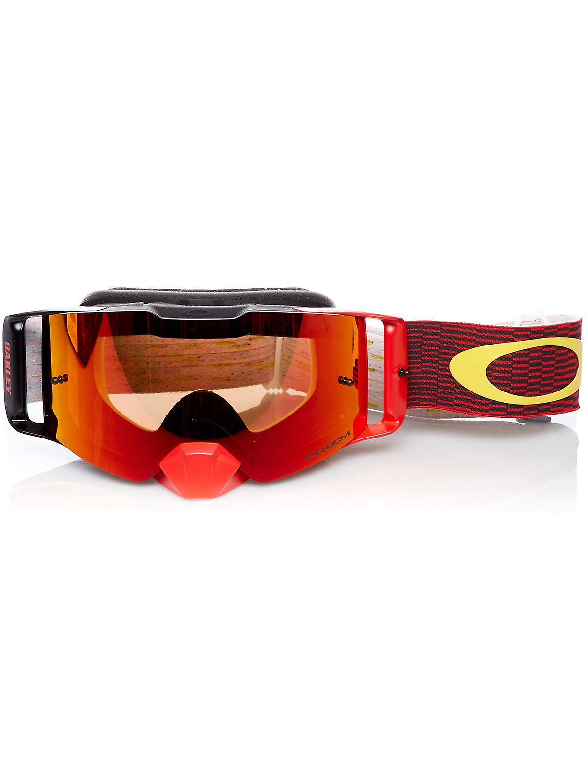 c2ea9a90c18 Oakley Equalizer Red-Yellow-Prizm Torch Iridium 2019 Front Line MX Goggle