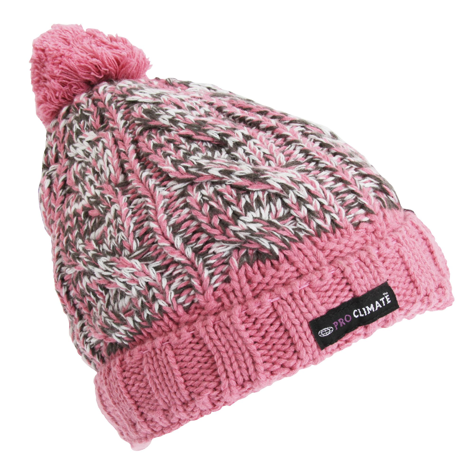 ProClimate Womens Ladies Thinsulate Beanie Hat  b0f2acd9167