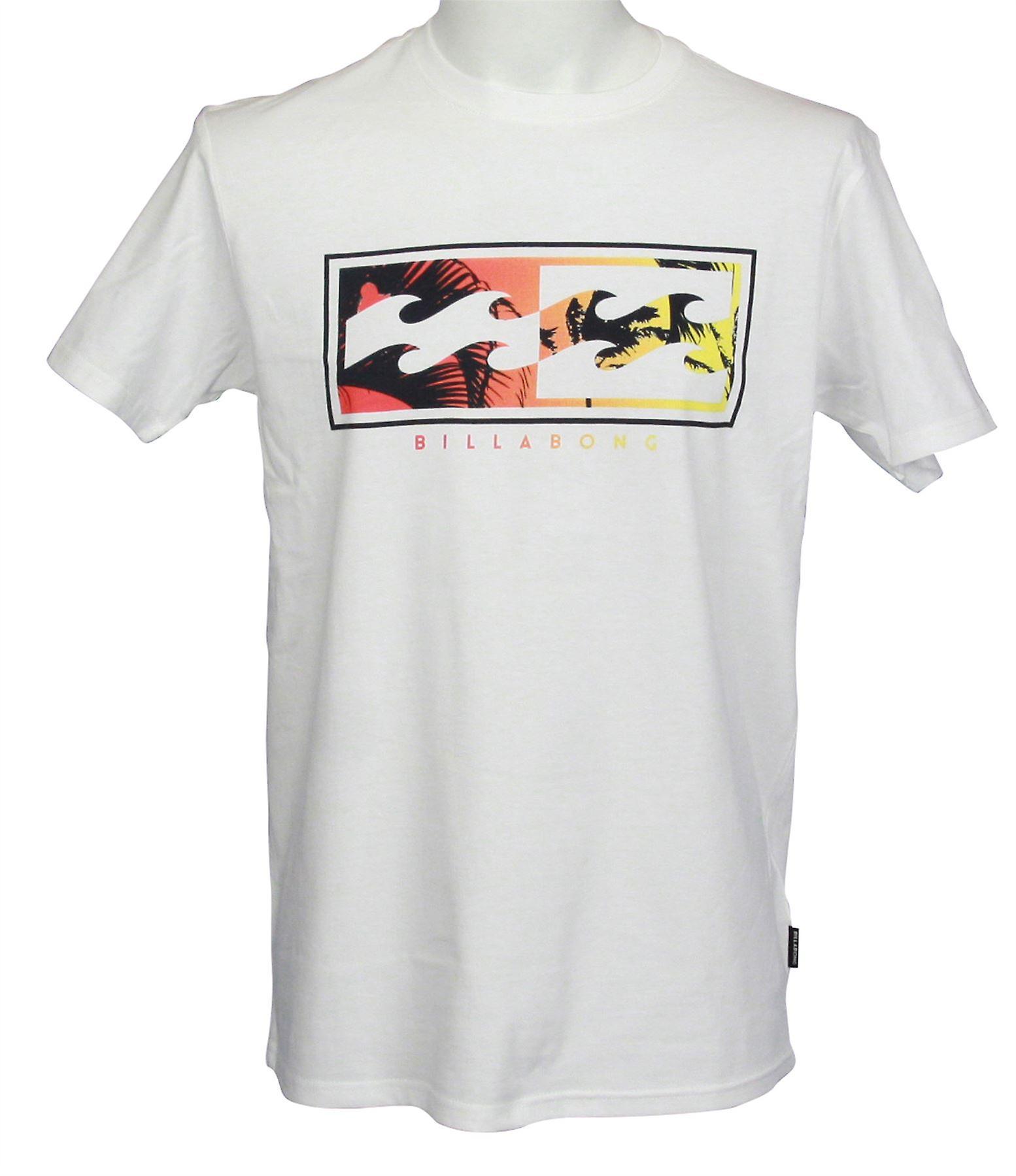 fea0340b2831d Billabong Men s T-Shirt ~ Inverse white