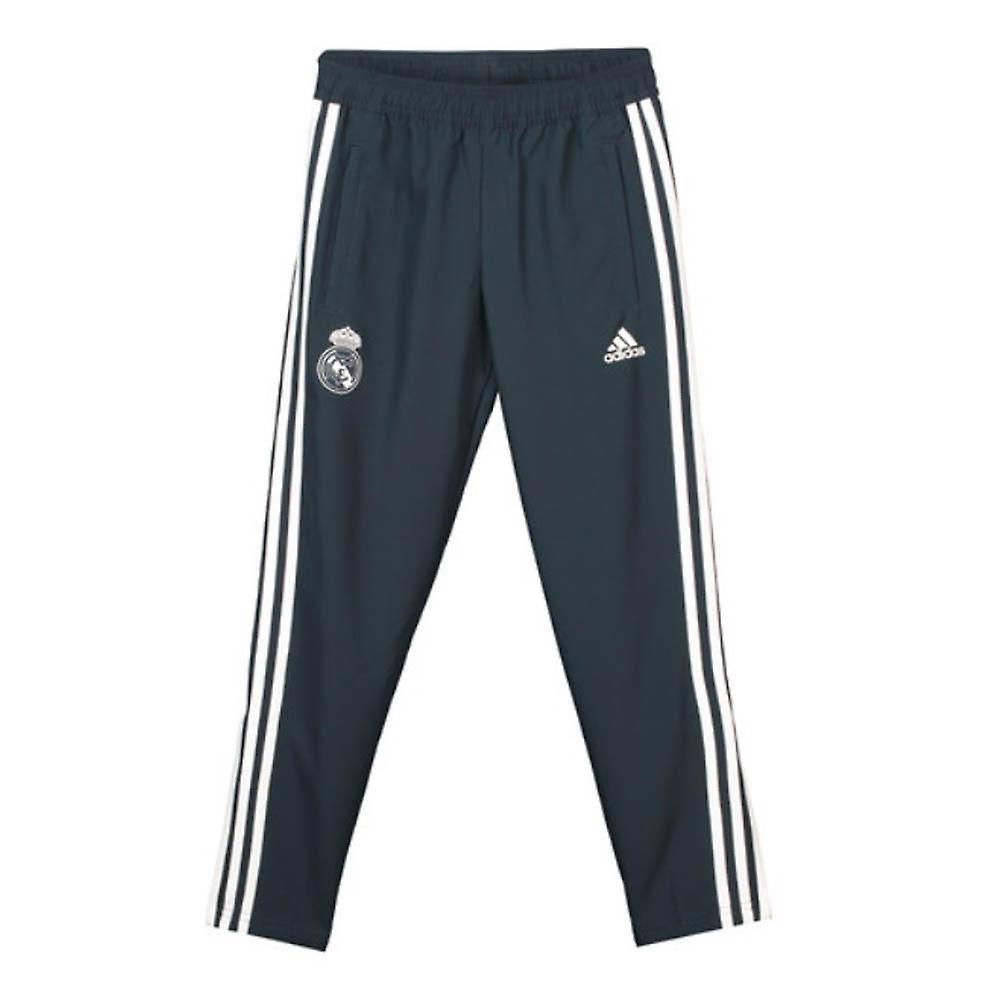 2018 2019 real Madrid Adidas vævet bukser (mørk grå) børn