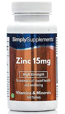 Zinc 15mg 360 Tablets