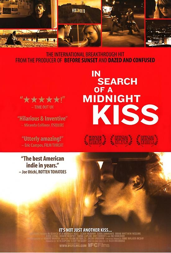In Search Of A Midnight Kiss Movie Poster Print 27 X 40