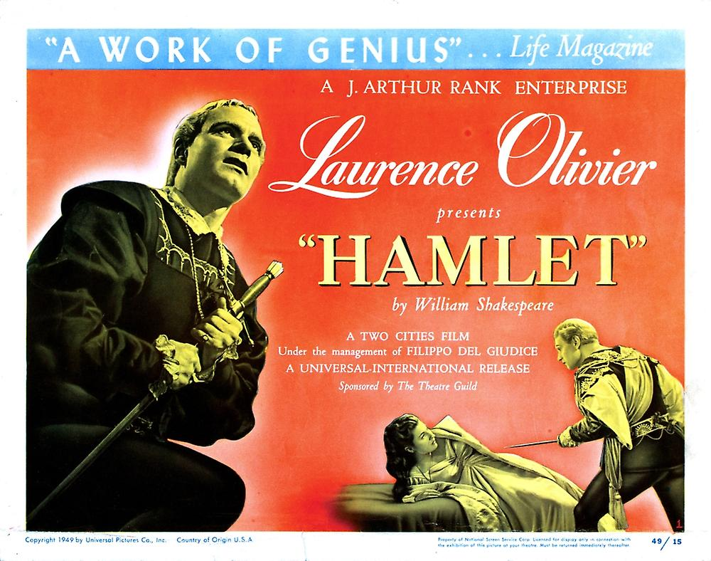 Hamlet movie poster