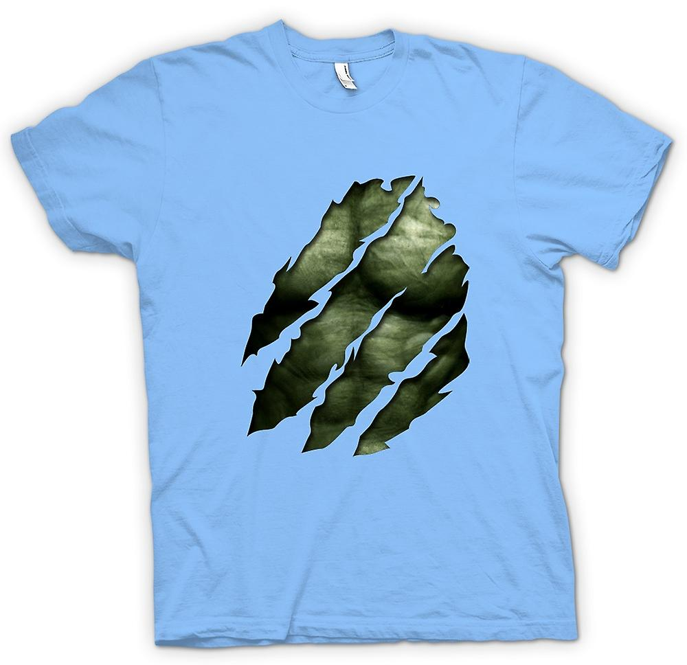 Kids t shirt the hulk ripped effect fruugo for Hulk fishing shirts