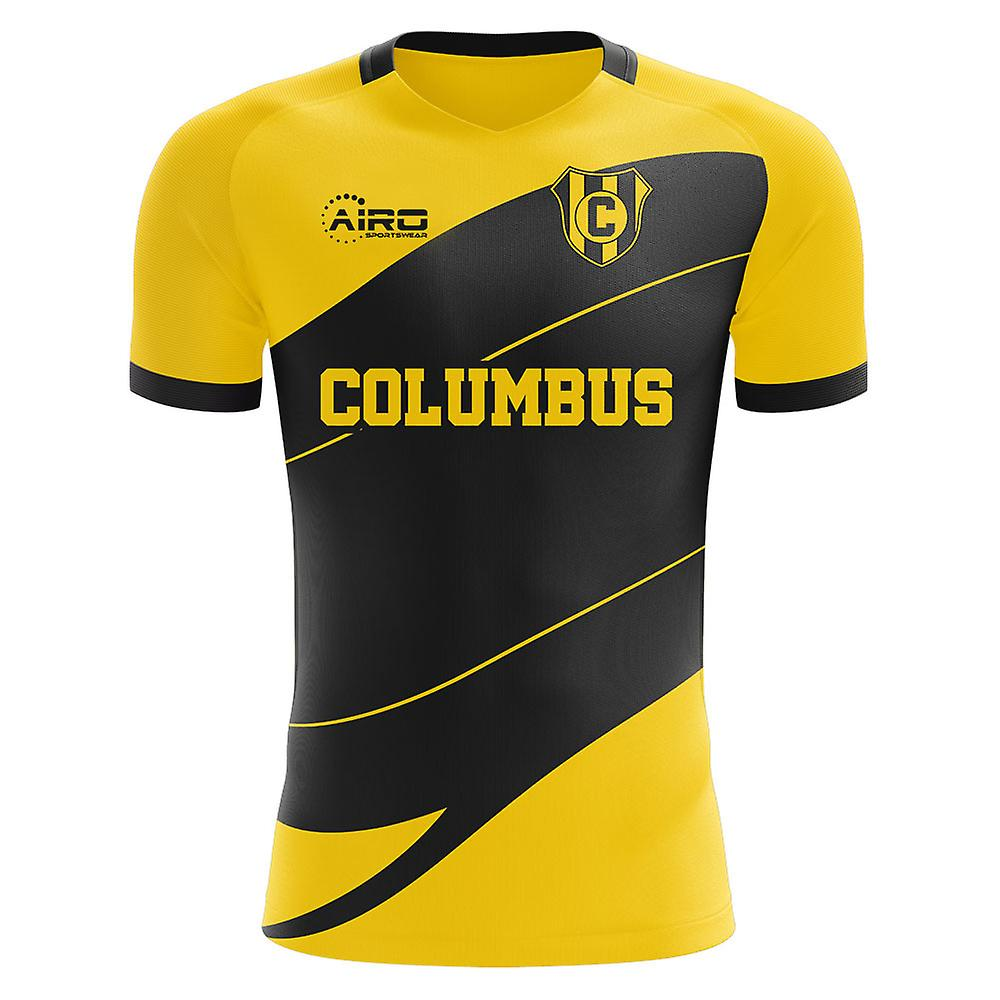 4c8914225 2019-2020 Columbus Home Concept Football Shirt | Fruugo