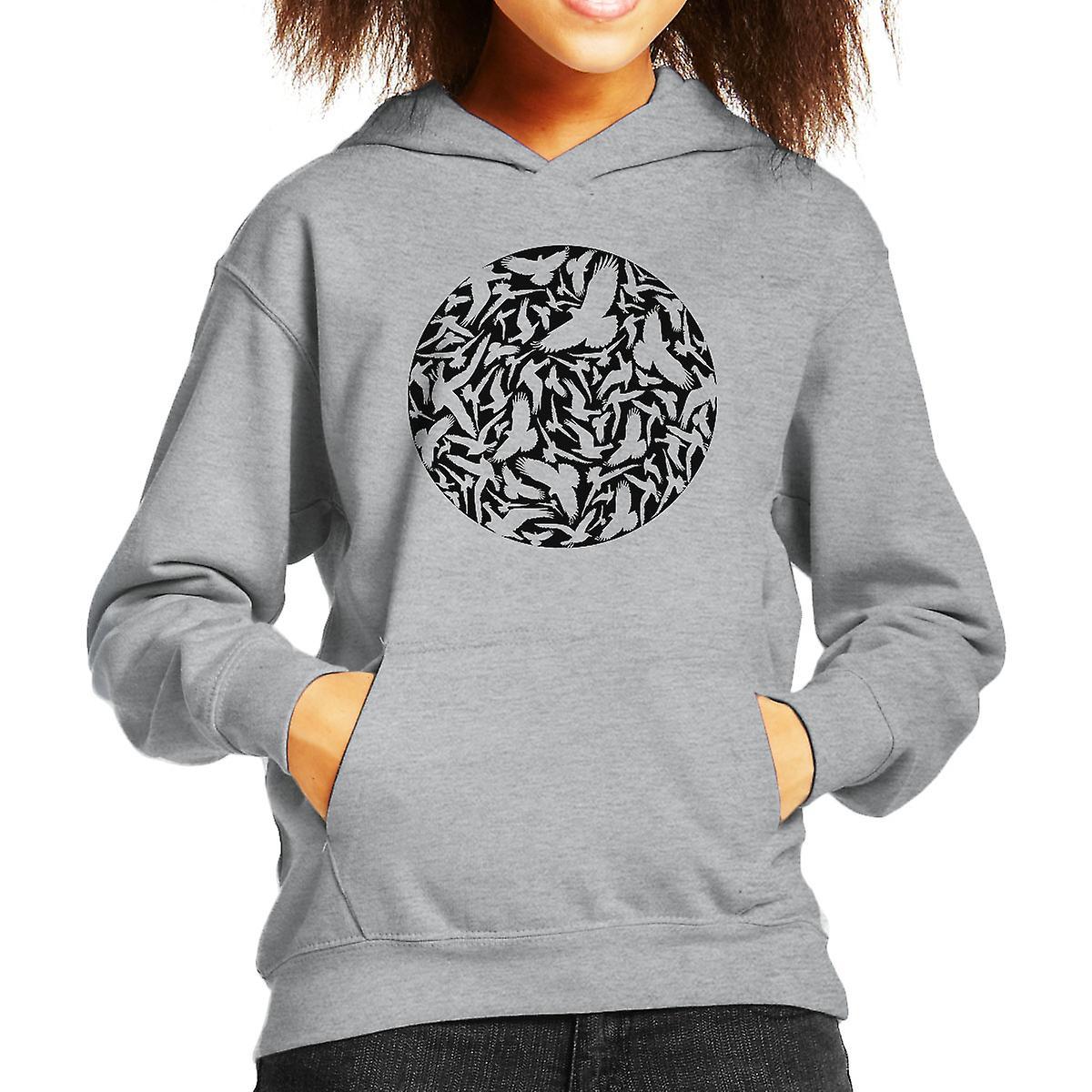 str men sie schwarze kind sweatshirt mit kapuze fruugo. Black Bedroom Furniture Sets. Home Design Ideas