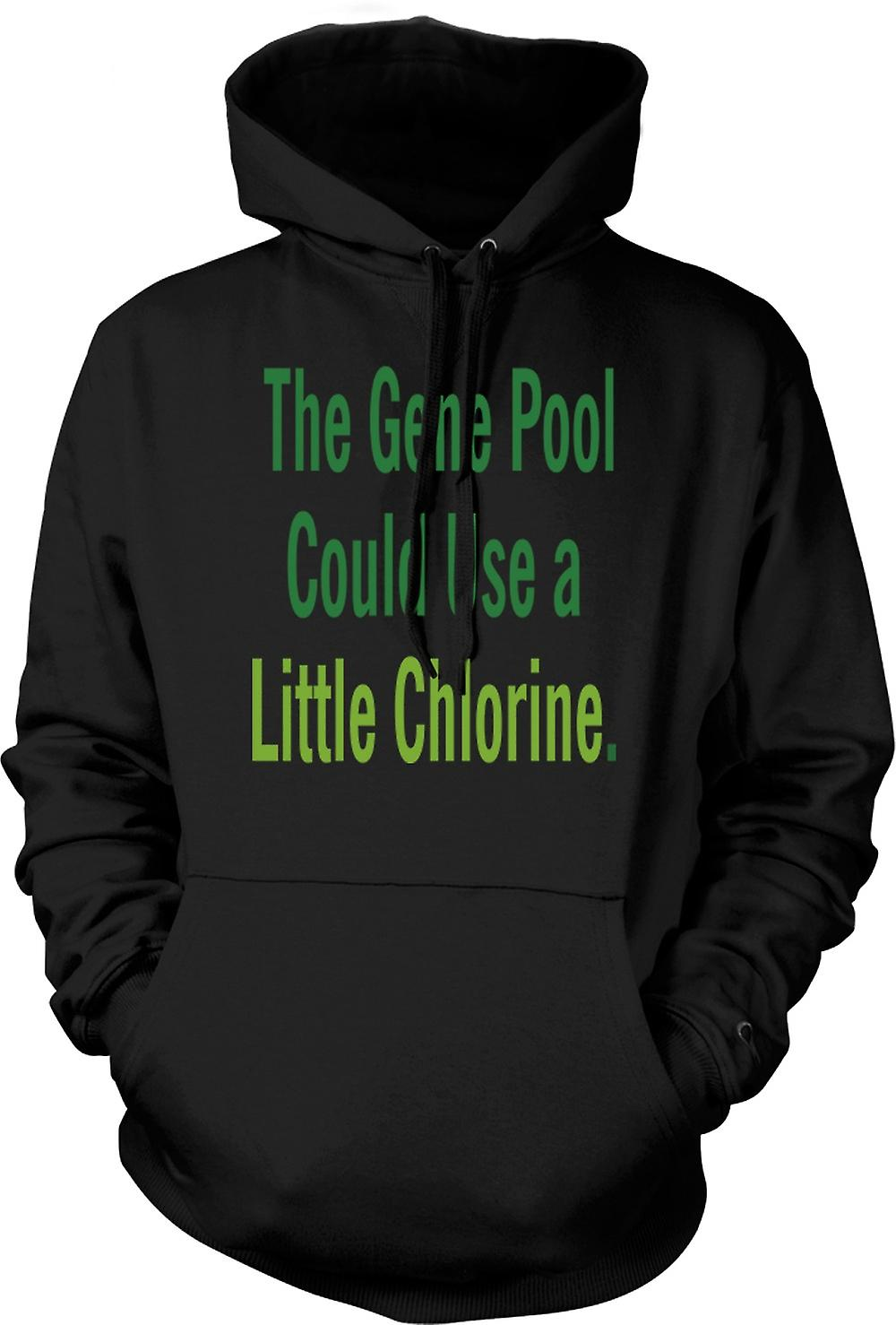 Mens Hoodie The Gene Pool Could Use A Little Chlorine