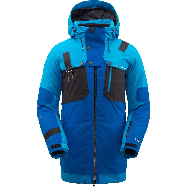 Herren Tex Jacke Spyder Gore Ski Blau Tordrillo Primaloft T1FJKcl