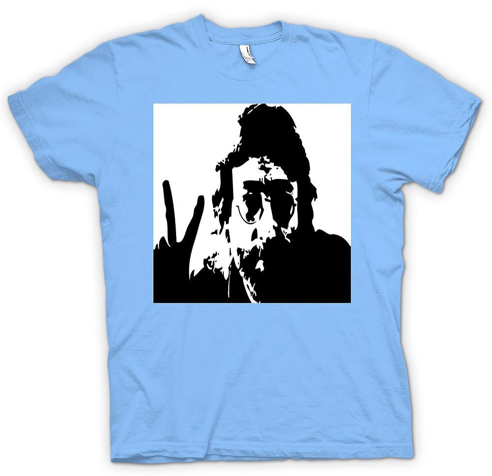 Kvinner t skjorte John Lennon Anti krig