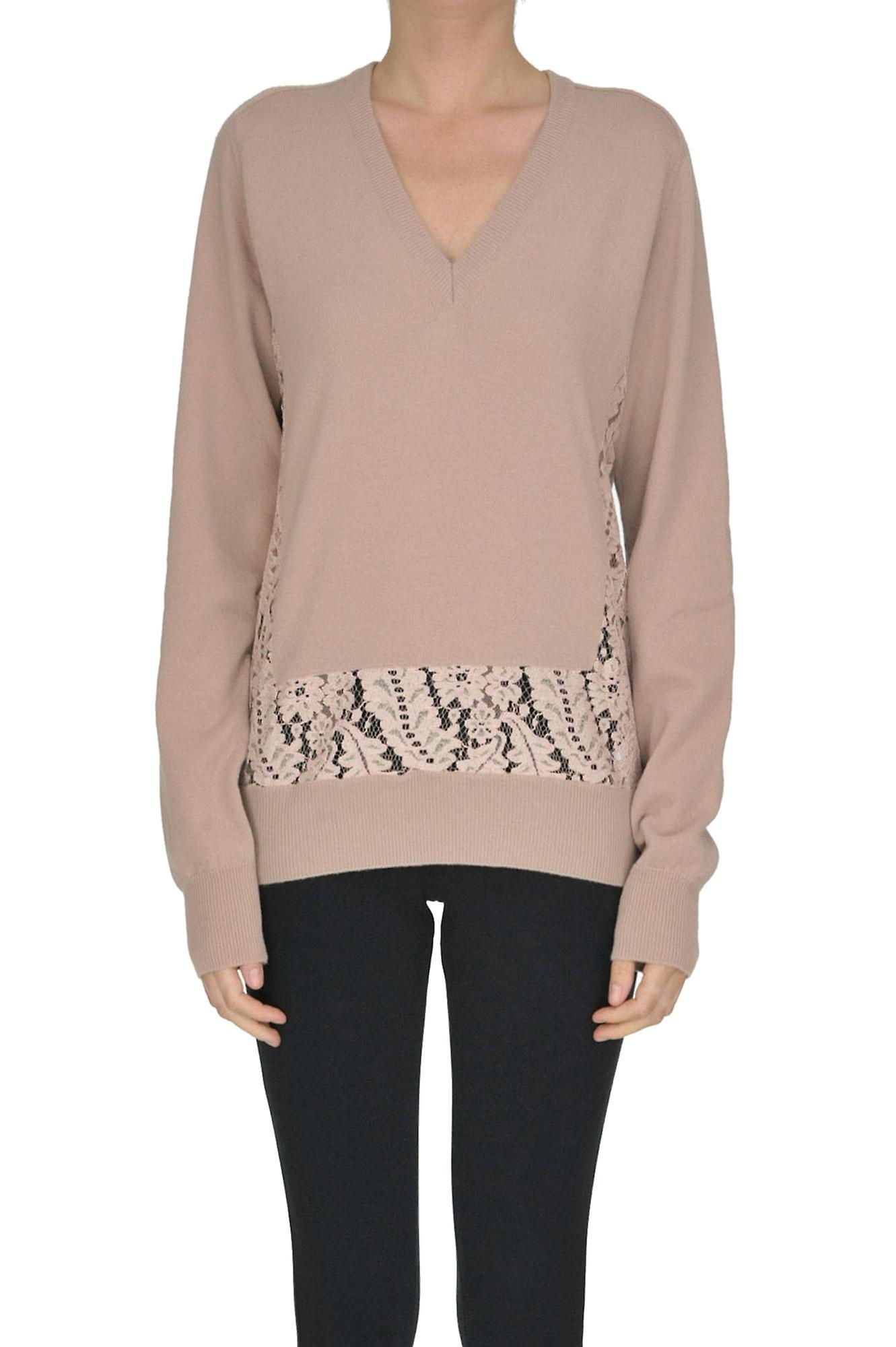 low priced c4e8a d36d0 N ° 21 rosa Wollpullover