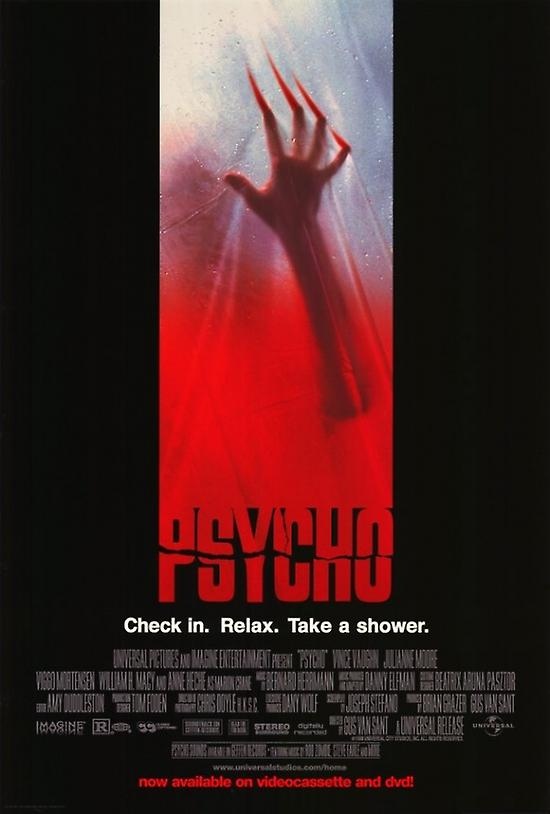 psycho movie paper