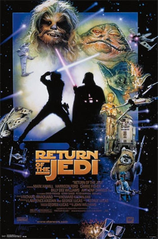 Star Wars - Return of the Jedi Poster Poster Print