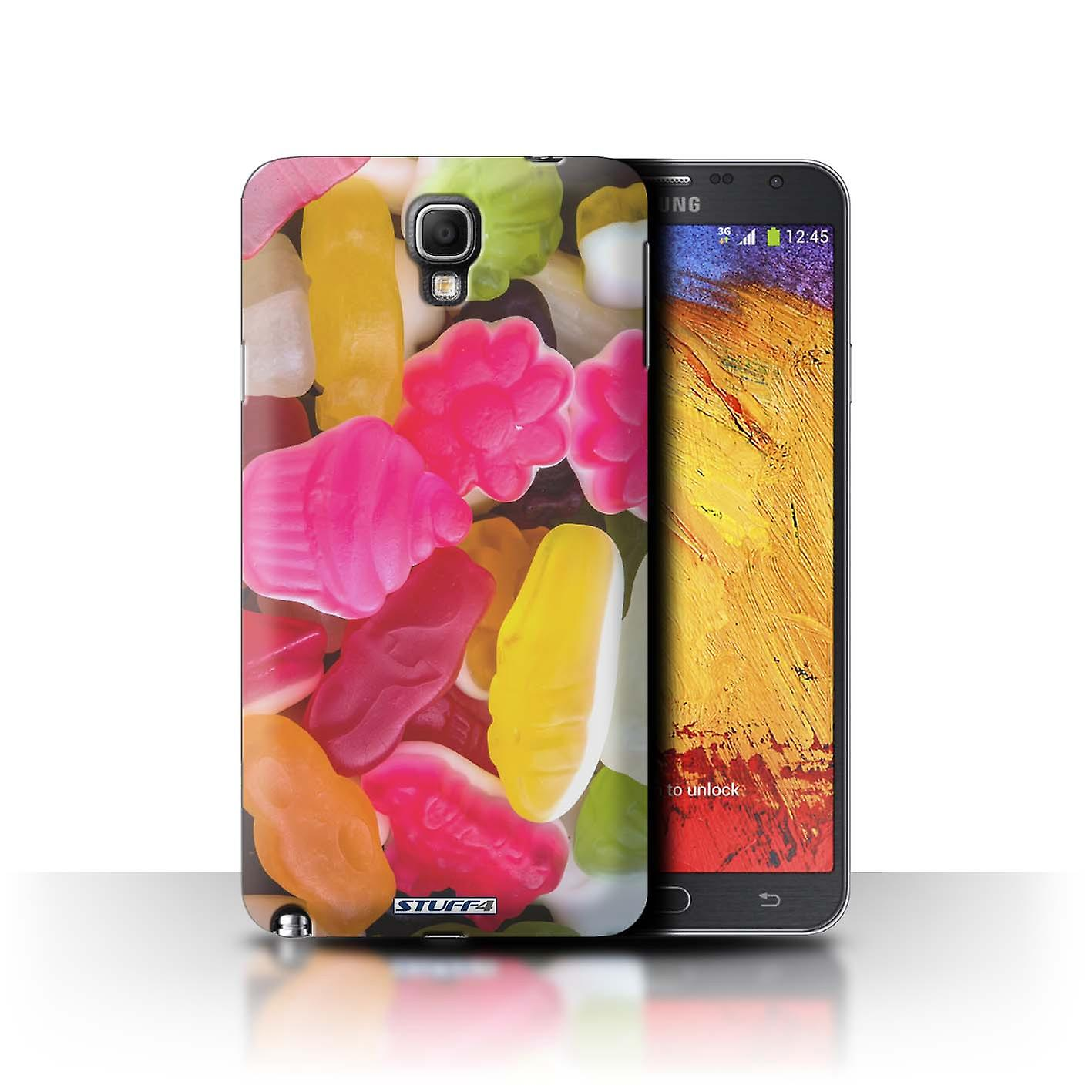 STUFF4 Case/Cover for Samsung Galaxy Note 3  Neo/Marshmallow/Jelly/Confectionery