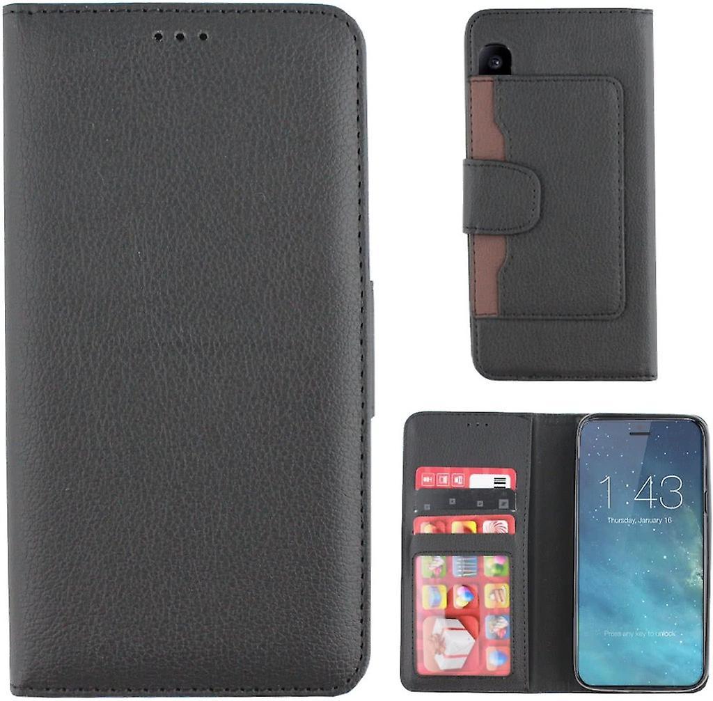 Colorfone Wallet Case iPhone X Xs Plånboksfodral Svart  34406cfbd09bb