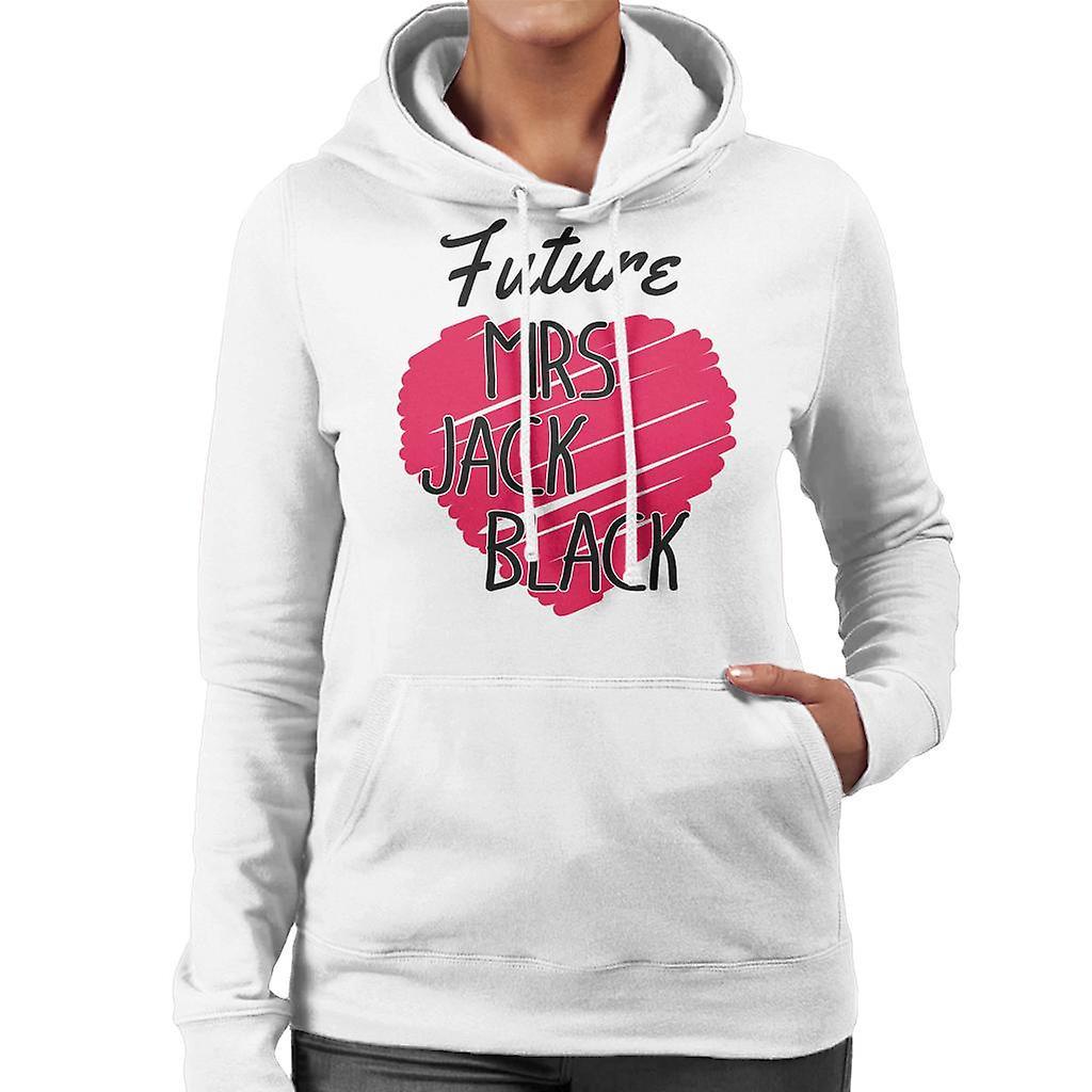 Zukunft Frau Jack Black Damen Sweatshirt mit Kapuze