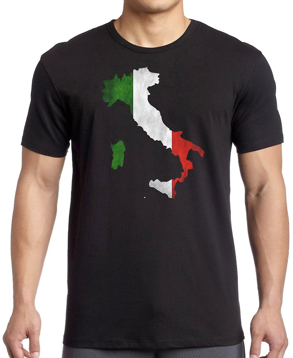 Map Of Italy For Kids.Italian Italy Flag Map Kids T Shirt