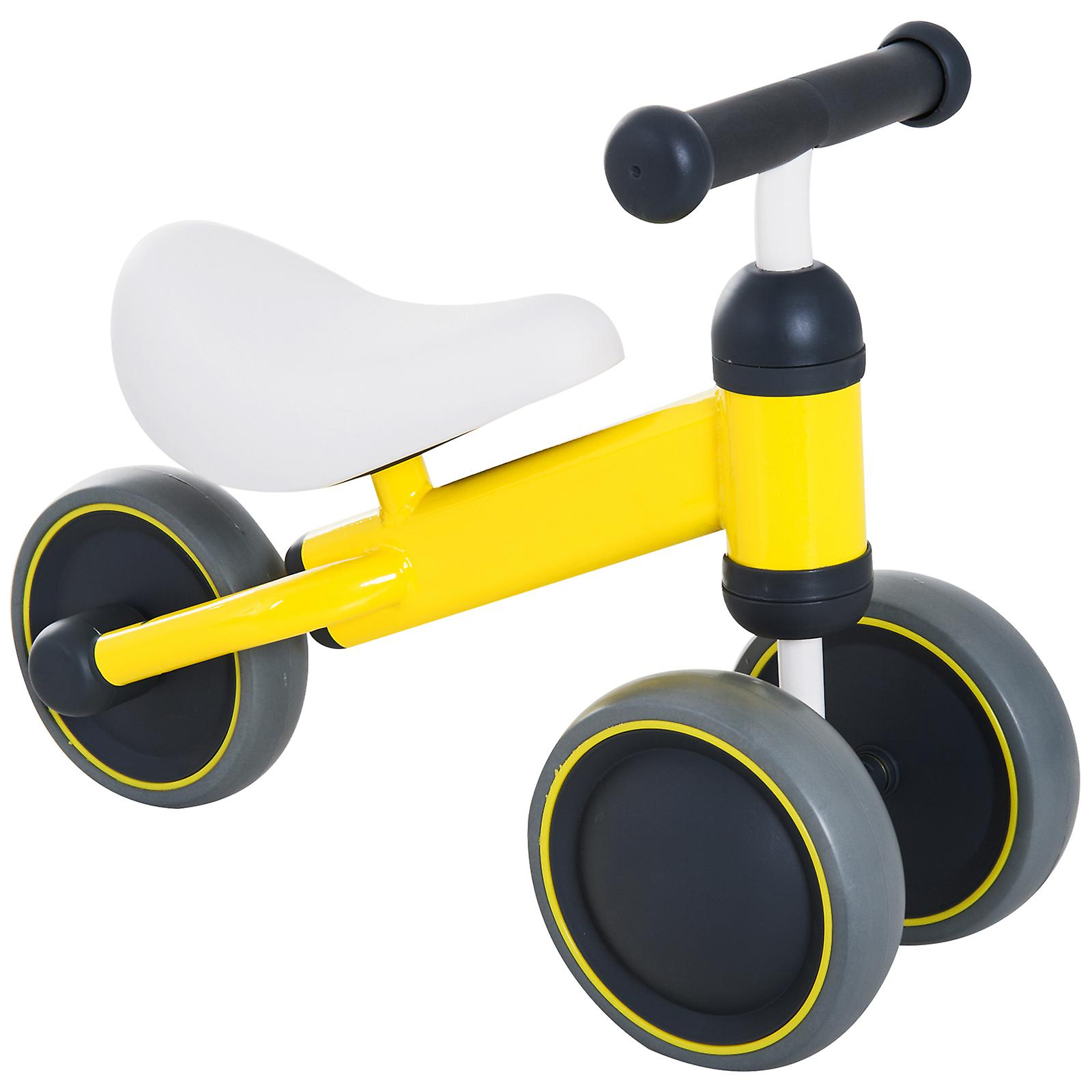 3c97241d42f HOMCOM Kids Baby Toddler Trike 3 Wheel Ride-on Cycle Tricycle for Balance  Training Yellow