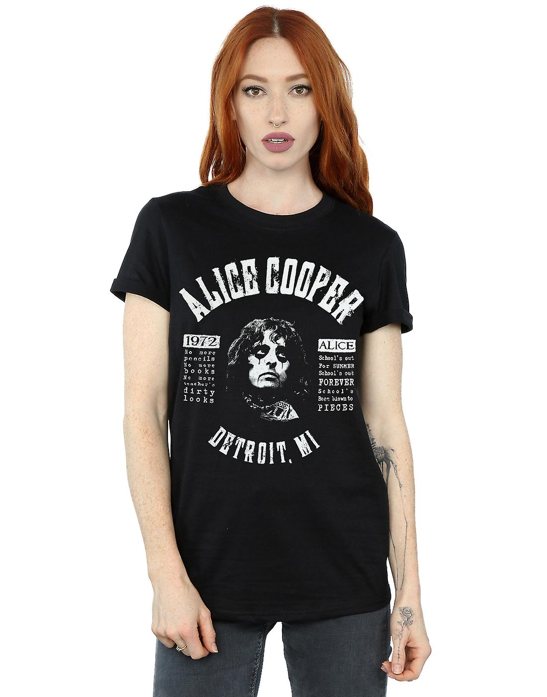 Official Alice Cooper Schools Out Band T-Shirt