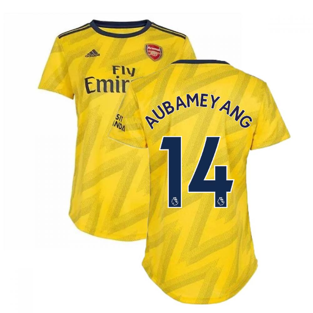 buy online 56ac3 ad8c4 2019-2020 Arsenal Adidas Womens Away Shirt (Aubameyang 14)