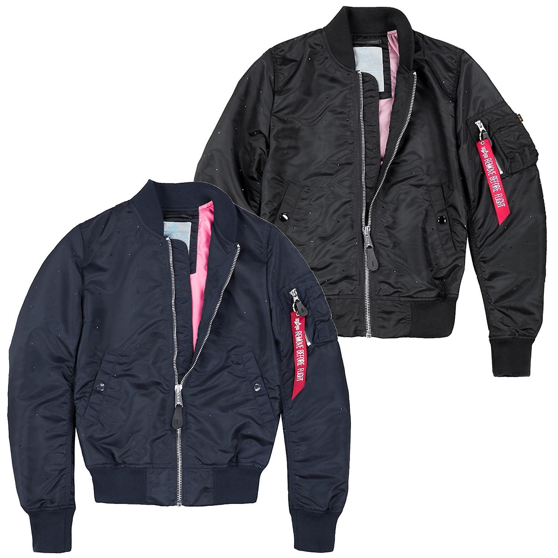 hot sale online 9b04c e154f Alpha industries women's bomber jacket MA-1 starry Wmn
