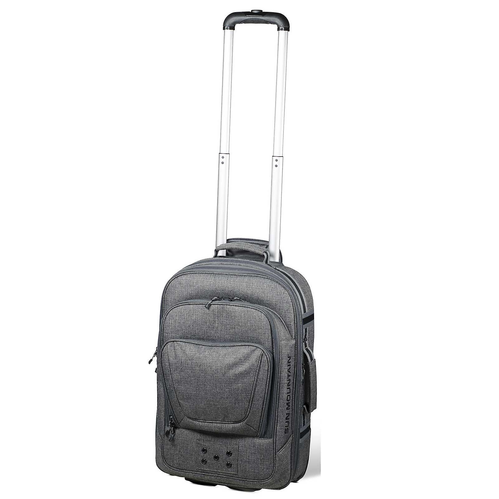 Sun Mountain hjul carry on flygning resa bagage väska Iton Grey