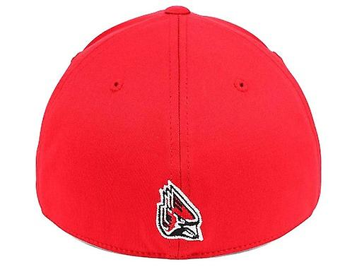 b936a04e Ball State Cardinals NCAA TOW Region Camo Stretch Fitted Hat