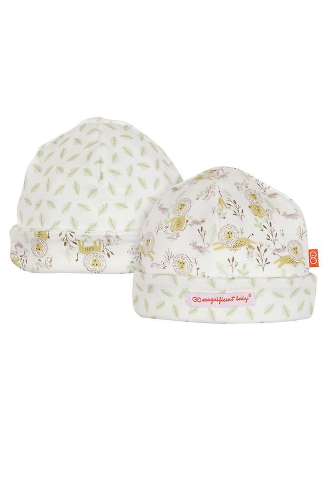 ceccd0481 Magnificent Baby Magnetic Me™ Reversible Baby Cap- Lion & the Mouse