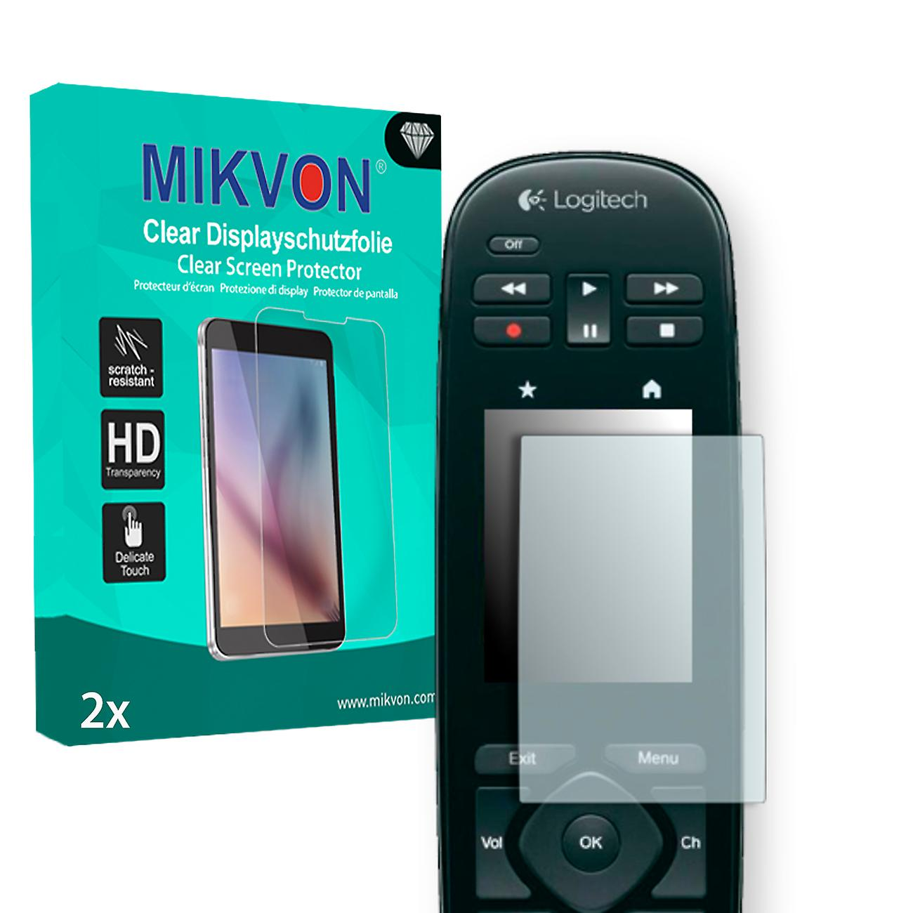 ba92f6138a4 Logitech Harmony Touch Screen Protector - Mikvon Clear (Retail Package with  accessories) (reduced