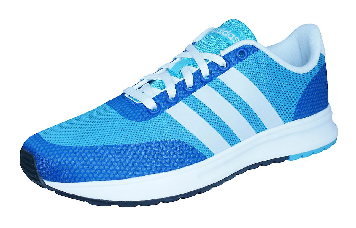 adidas neo men's v racer leather trainers