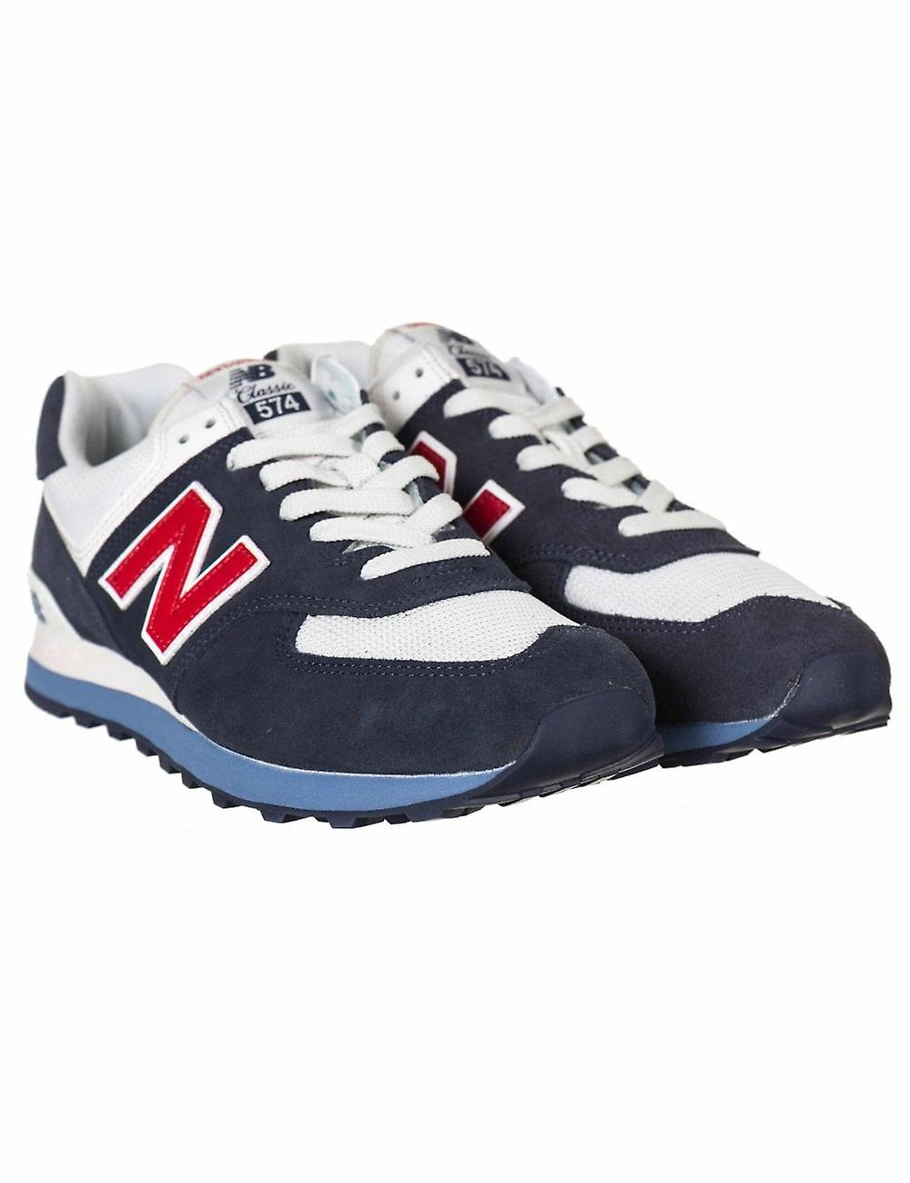 detailed pictures b39a9 385e8 New Balance Ml574egb Trainers - Blue