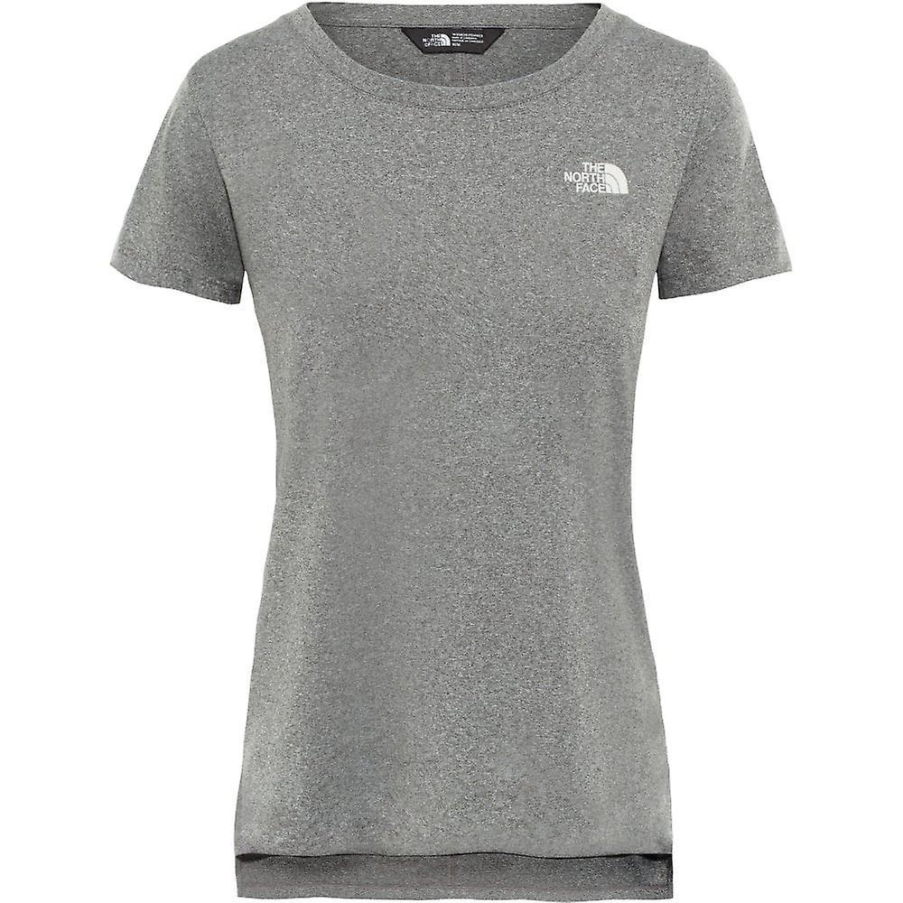 North Face Women's Quest T Shirt TNF Medium Grey Heather