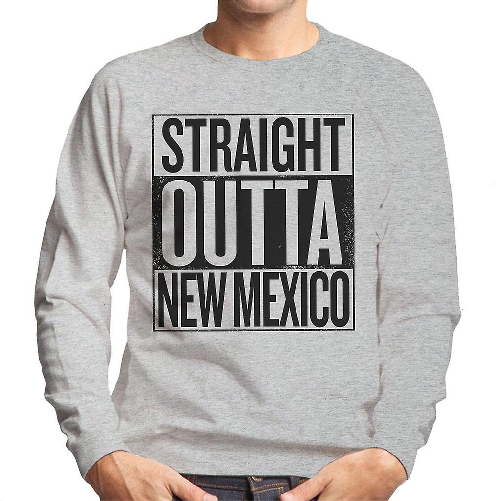 Schwarzer Text Straight Outta New Mexiko US Bundesstaaten