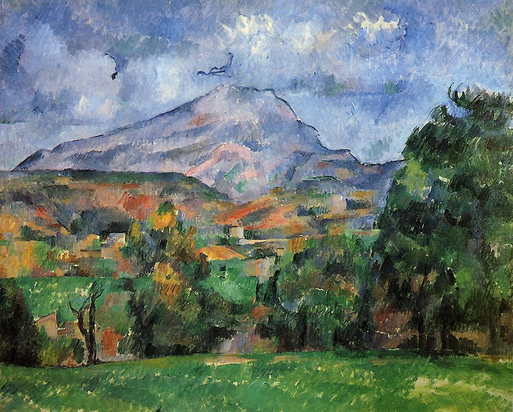 paul cezanne opacifi montagne poster impression gicl e fruugo. Black Bedroom Furniture Sets. Home Design Ideas