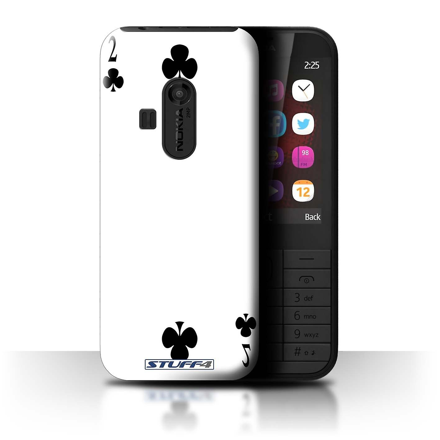 100% authentic 9deaa c4206 STUFF4 Case/Cover for Nokia 220/2 of Clubs/Playing Cards