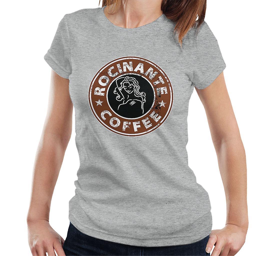 c62134108e984 Die weite Rocinante Kaffee Damen T-Shirt | Fruugo